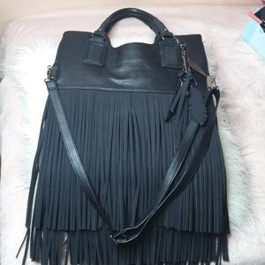 ALDO brand new without tag fringe purse